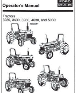 3230 3430 3930 4630 5030 tractor