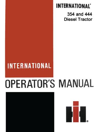 354 444 diesel tract