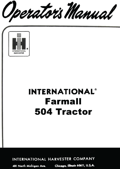 504 farmall man