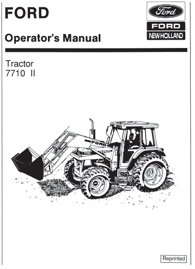 7710 I tractor