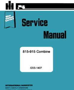 815 915 combines Serve man