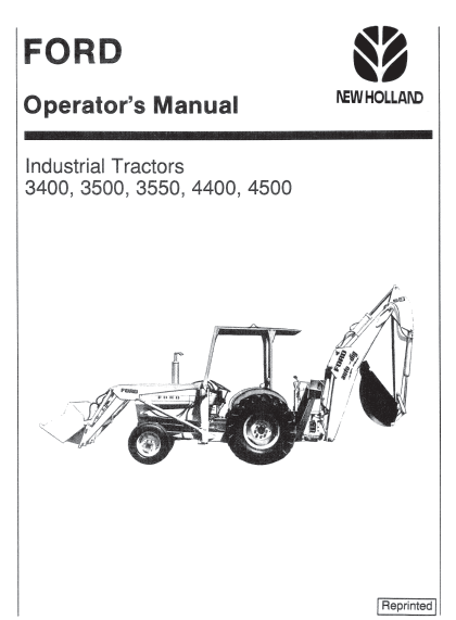 ford 3400 3500 3550 4400 4500 tractor manual pdf 9 99 farm manuals rh farmmanualsfree com ford 4500 industrial tractor manual 4500 Ford Owner's Manual