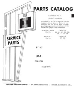 364 parts cat