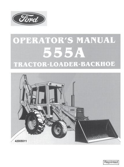 ford 555a tractor loader backhoe manual pdf 9 99  u2013 farm