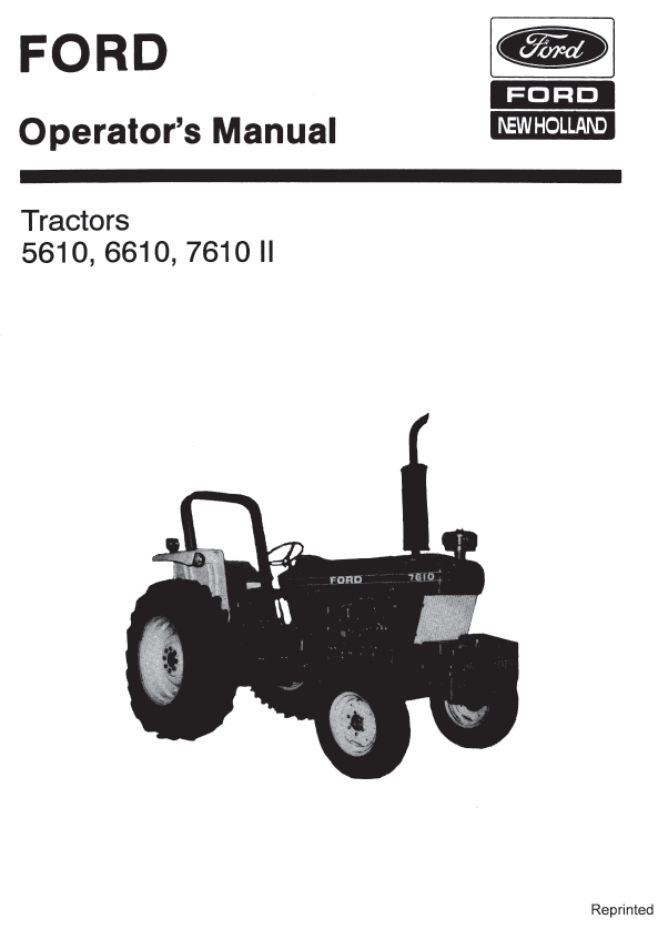 ford 1100 tractor manual pdf