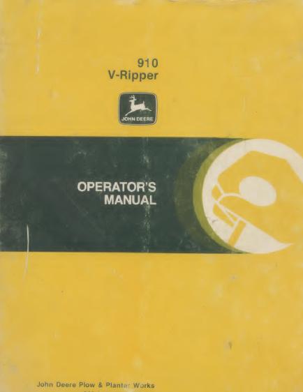 910 V ripper
