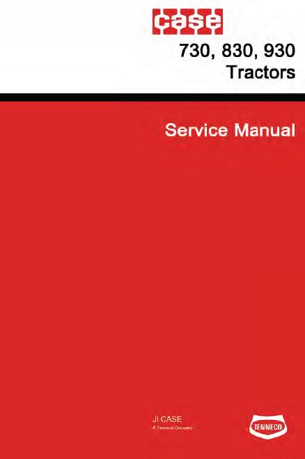 Case 730 830 930 Tractor Manual Pdf 35 99  U2013 Farm Manuals Free