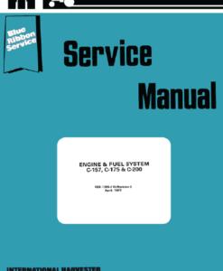 c157 c175 c200 serve man